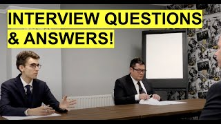 Interview Questions and Answers! (How to PASS a JOB INTERVIEW!)