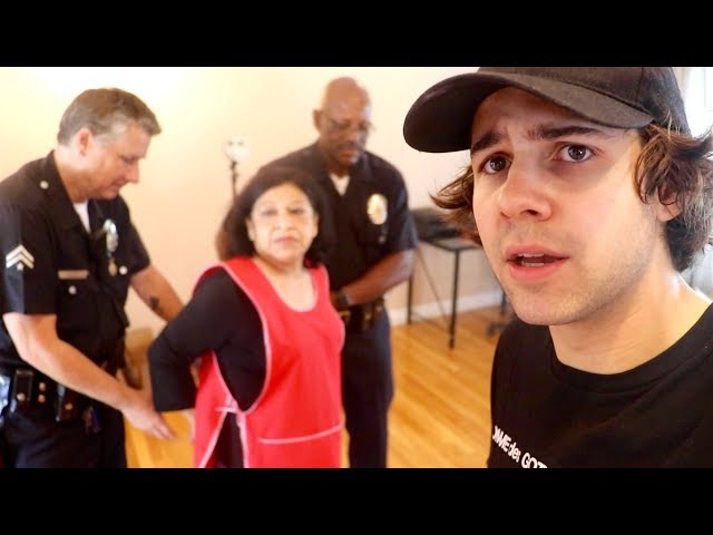 MY HOUSEKEEPER WAS ARRESTED!! (FREAKOUT)