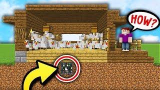 HIDDEN CHICKEN SPAWNER PRANK! (Minecraft Boundless Modded Survival #8)