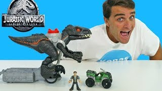 Imaginext Jurassic World Walking Indoraptor !    Toy Review    Konas2002