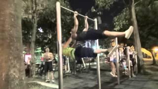 三重街頭健身團練習影片