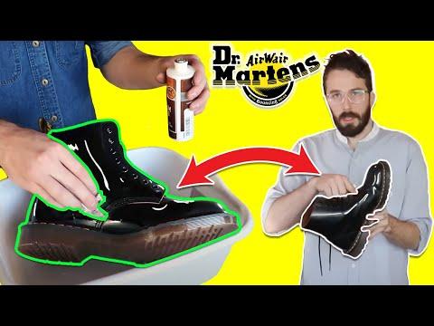 How To Break In DOC MARTEN BOOTS - (Fast) - Dr Martens Break In Tutorial