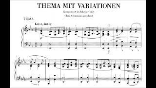 Schumann: Ghost Variations, WoO 24 (Anderszewski, Levit)