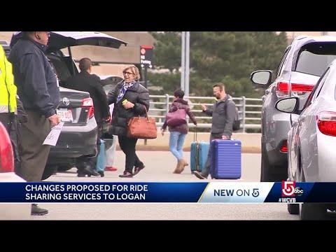 Massport proposes major changes to Uber, Lyft at Logan Airport