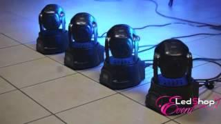 Mini Lyre 7X12W RGBW - Led Shop Event