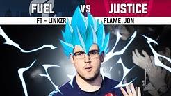 The Next Evolution | Fuel vs Justice ft - Linkzr, Flame, Jon