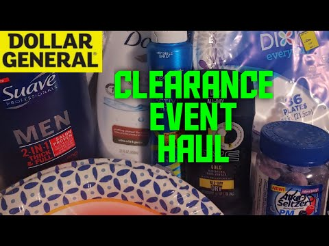 Dollar General Clearance Event Haul February 2020
