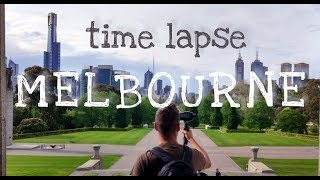 Time Lapse in Melbourne