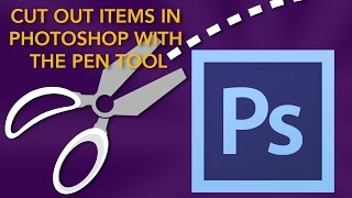 Cut Out Items in Photoshop with the Pen Tool