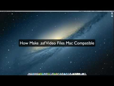 How To Convert .asf Video File For Playback On A Mac, Ipad Or Any Phone, For Free.