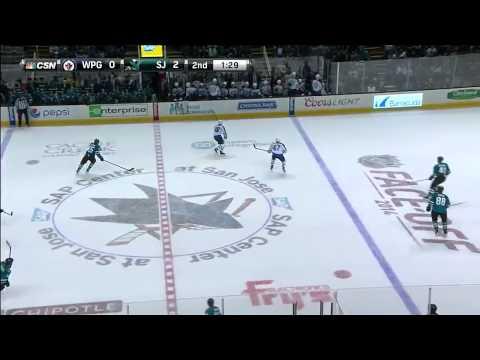 Winnipeg Jets vs San Jose Sharks 11.10.2014