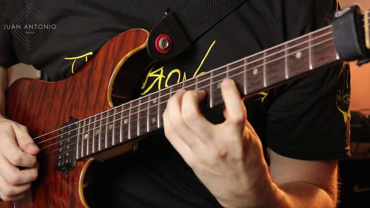 Progressive Metal Fusion Guitar Solo