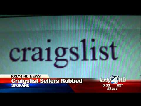 Thieves targeting sellers on Craigslist