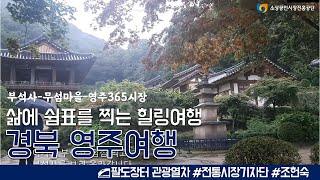 경북 영주에서 힐링여행 l 팔도장터 관광열차
