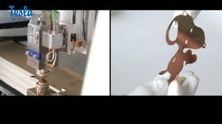 Станок ЧПУ в работе, видео обзор .