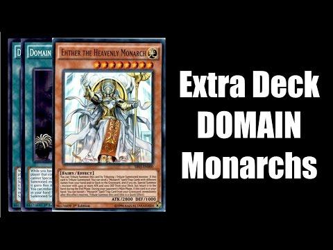 Deck Profile Extra Deck Domain Monarchs