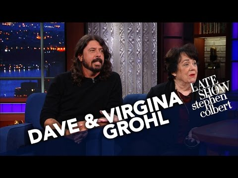 Dave Grohl's Mom Virginia Talks About Raising A Rockstar Chi