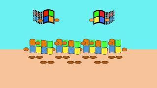 Tribal Island But Windows XP