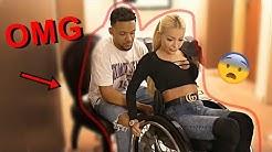 OMG! Ich fahre im 10 TAUSEND Euro Rollstuhl 😱 Mit Leeroy | Katja Krasavice