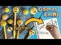 Cómo hacer Gomas de Emoji :: Chuladas Creativas :: Eraser Emoji DIY :: Gomas DIY