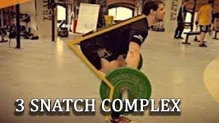 Technique: 3 SNATCH COMPLEX/ S.BONDARENKO (weightlifting & crossfit)