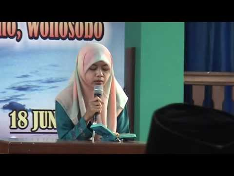 Qiroah Siti Laelatun Haflah Al-Huda Rojoimo ke 24 th 2014 apload Affanoer
