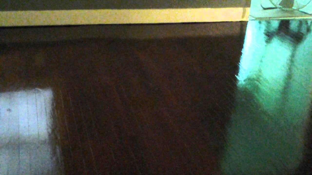 Painting and gel staining wood floors 3  YouTube