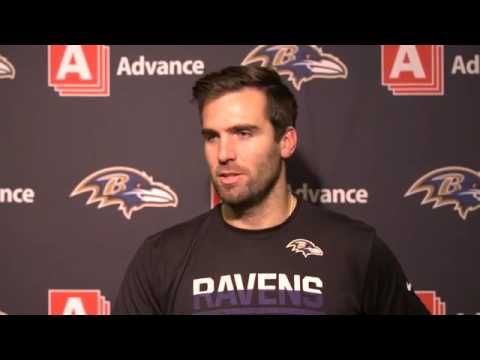 Joe Flacco Doesn't Care About Franchise Record | Full Press Conference | Baltimore Ravens