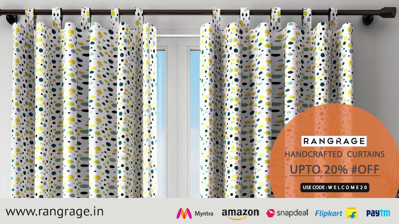 RANGRAGE Handcrafted Curtains Online India | Curtains Online Shopping - YouTube