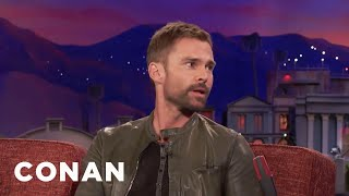 "Seann William Scott: Someone Stole A Car From The ""Lethal Weapon"" Set  - CONAN on TBS"