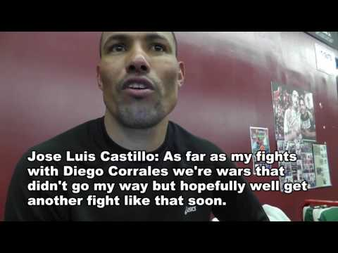 Exclusive: Jose Luis Castillo on beating Mayweather and Sparring Pelos Garcia