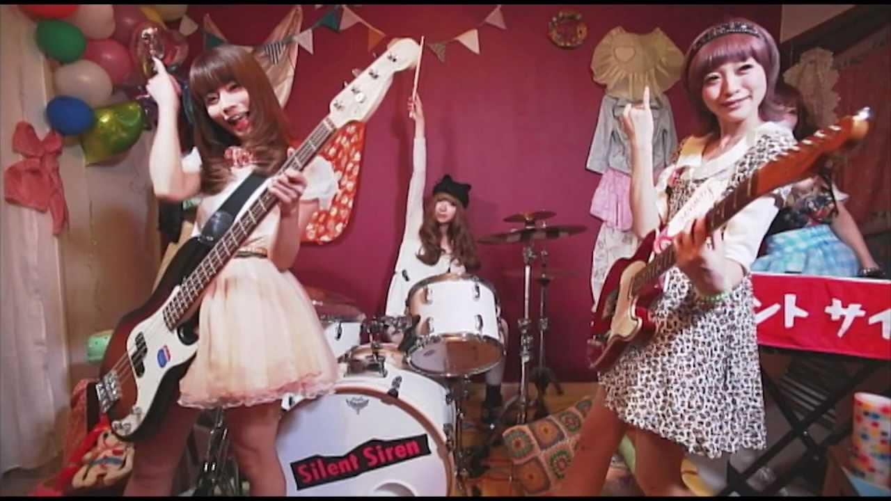 Silent Siren「Sweet Pop!」MUSIC VIDEO