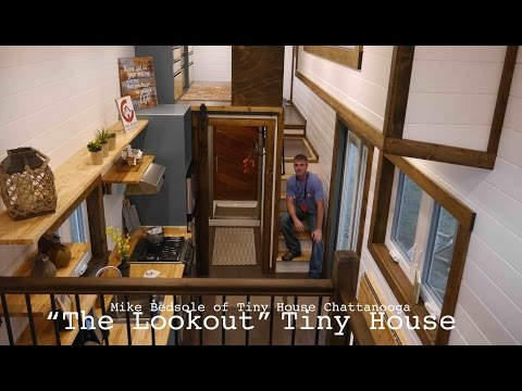 'The Lookout' Luxury Tiny House- Jamboree 2016 in Colorado Springs
