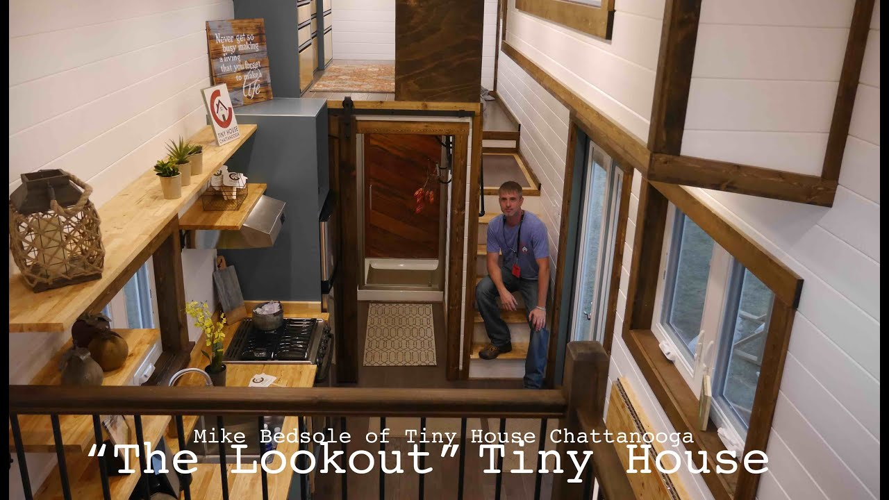The lookout luxury tiny house jamboree 2016 in colorado for The lookout tiny house