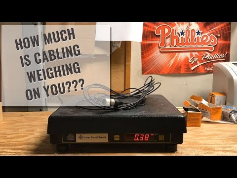 Video Production Cable Weight || Want to Lighten the Load?