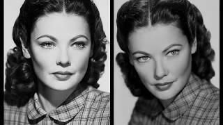 Movie Legends - Gene Tierney (Desire)