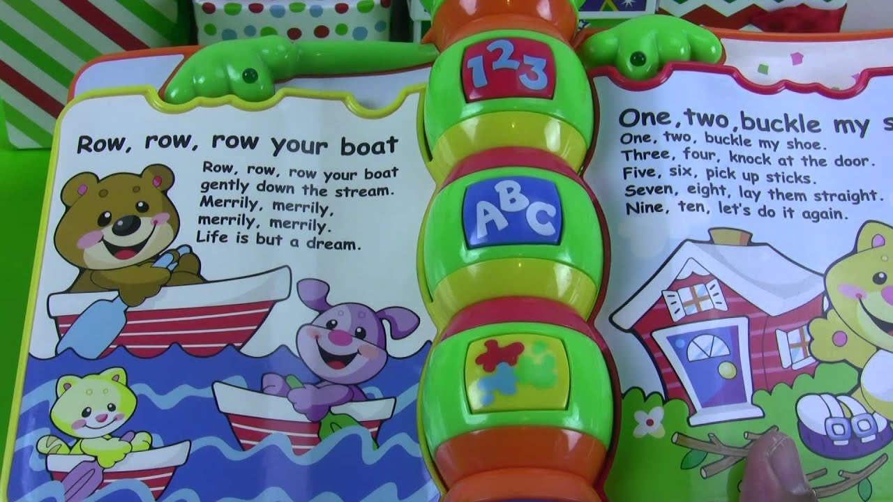 Fisher Price Laugh And Learn Storybook Rhymes Youtube