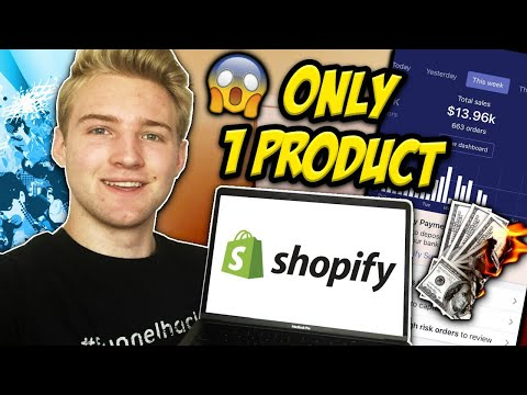 How To Build A Profitable Single-Product Shopify Store!