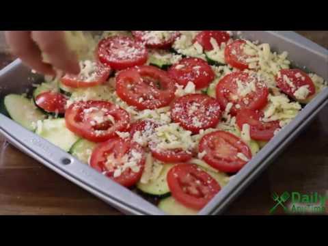 How To Make Tomato Zucchini Casserole - Vegetarian Recipes