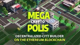 MegaCryptoPolis - Dесеntrаlized City Builder Strategy Game