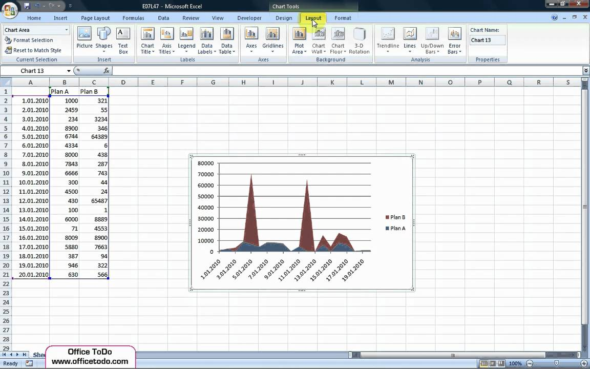 Excel how to add a title to the chart youtube excel how to add a title to the chart ccuart Choice Image