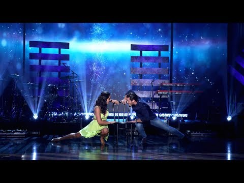 'DWTS' Contestant Victoria and Partner Val Take Center Stage