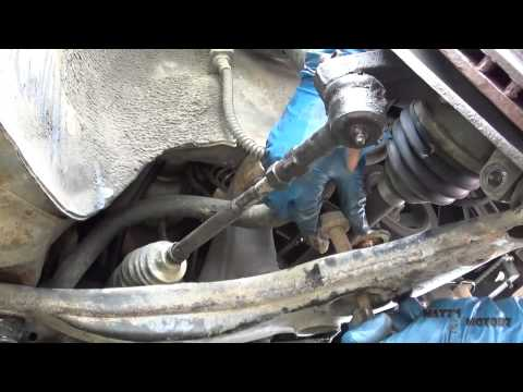 Control Arm and Ball Joint Replacement [2002 Mitsubishi Lancer]