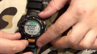 Casio ProTrek PRG-40(сделал обзор на часы., 2013-10-26T10:43:59.000Z)