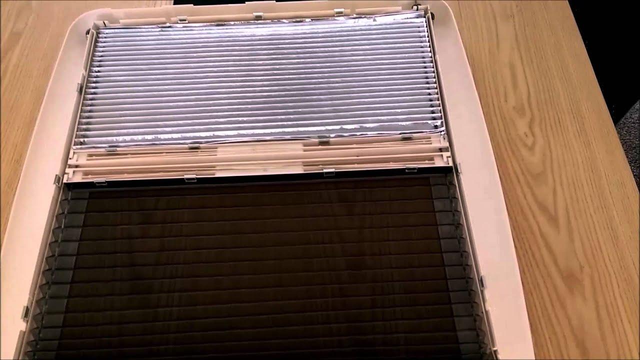 How To Repair A Heki Mini Rooflight Interior Frame Youtube