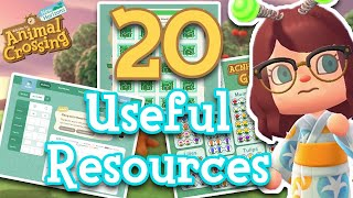 20 Useful Resources for Playing Animal Crossing: New Horizons