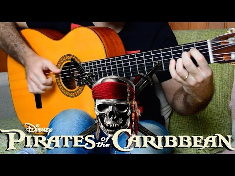 Pirates of the Caribbean (He's a Pirate) - Fingerstyle Guitar (Marcos Kaiser) #91