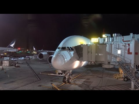 QANTAS Airbus A380 / Los Angeles To Sydney / 4K VIDEO !