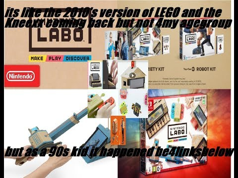 New Nintendo Labo game releasing April 20th.article session review!