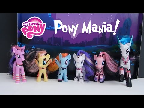 MLP My Little Pony Mania Toys R Us Exclusive Collection Goth Punk Ponies
